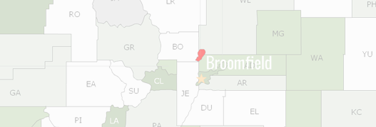 Broomfield County Map