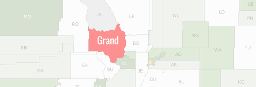 Grand County Map
